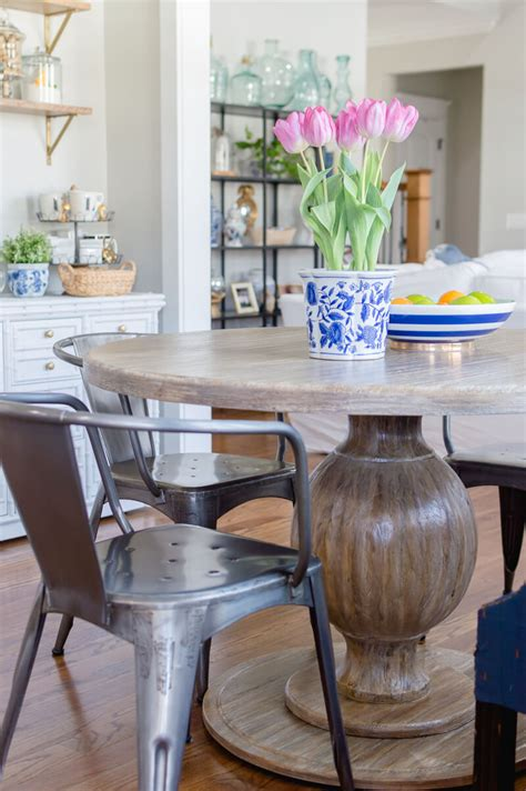market farmhouse table breakfast nook update with farmhouse table the