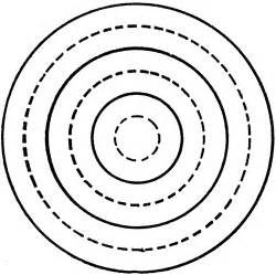 drawing concentric circles with compass clipart etc