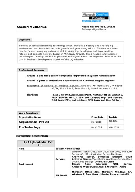 Windows Administration Sle Resume by Active Directory Resume Experience 28 Images Directory Of Certified Professional Resume