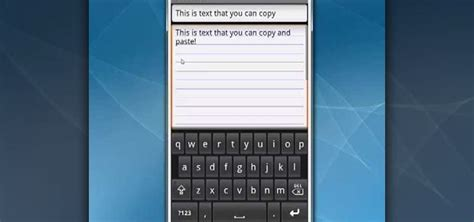 how to copy and paste on android how to copy and paste text on a android smartphone 171 smartphones
