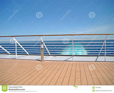 cartoon boat deck cruise ship deck stock photo image of recreation deck