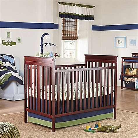 Alligator Crib Bedding Nojo 174 Alligator Blues Crib Bedding Collection Www Buybuybaby