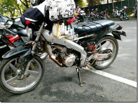 Pompa Bensin Yamaha Vixion modifikasi yamaha vixion potong rangka jadi bebek c70