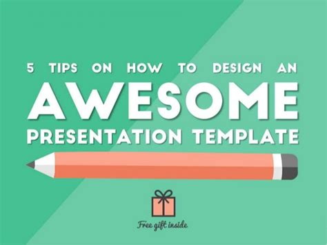 How To Design An Awesome Presentation Template Awesome Powerpoint Templates Free