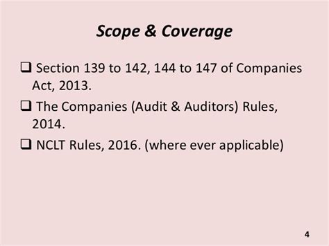appointment letter to auditor companies act 2013 appointment removal resignation of auditors