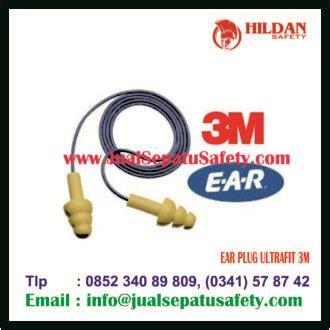 Ear Ultrafit Corded Pelindung Telinga Dengan Casing ear ultrafit 3m jualsepatusafety