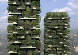 green apartments in vertical forests in the sky called