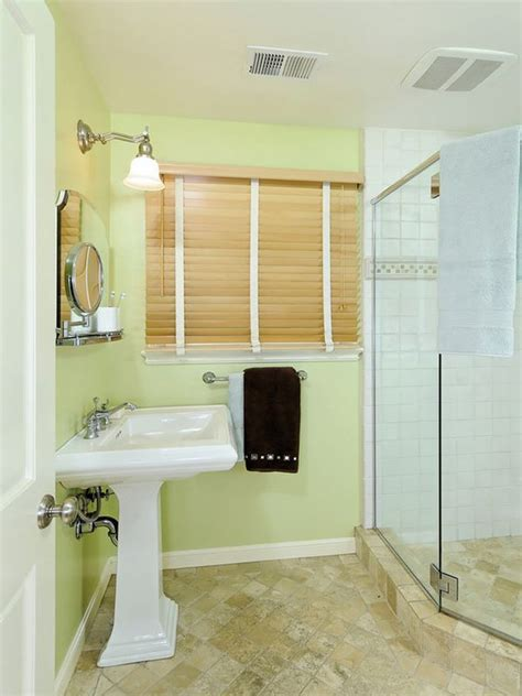 Bathroom Ideas With Shower Curtain by How To Use Green In Bathroom Designs
