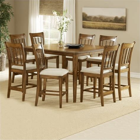 hillsdale bayberry 9 counter height gathering dining