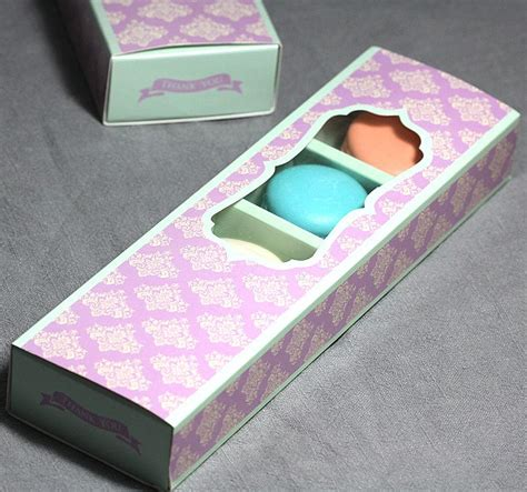 cookie box with window retail macaron package box window drawer boxes bakery cake