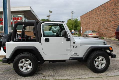 2003 jeep wrangler sport 4 0 tj sport suv 5 speed 1 owner