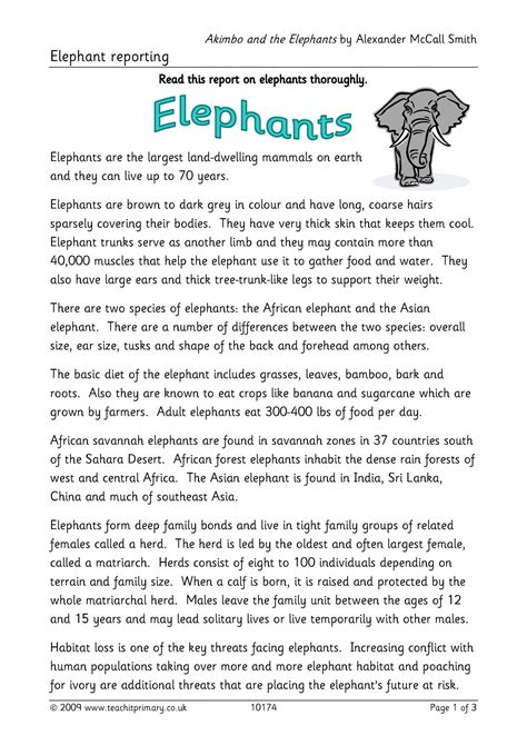 Factual Report Template Ks2 Writing Composition Resources For Fs Ks1 And Ks2