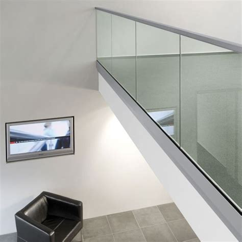 glass banister glass balustrade fixing for window seat architecture