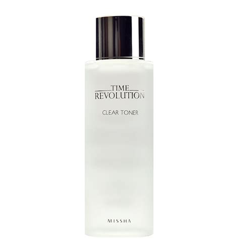Missha Time Revolution Clear Toner missha time revolution clear toner canada usa chuusi