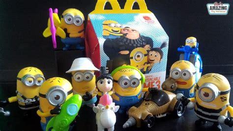Happy Meal Despicable Me3 the top 5 best blogs on mcdonalds happy meal