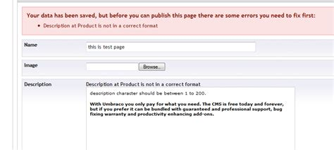 file layout definition error 118 20 how to modify default doctype error message that comes