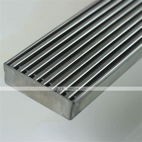 Adjustable Shower Pan by Linear Floor Shower Drain Stainless Steel Adjustable Exit