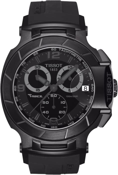 t048 417 37 057 00 tissot t race chronograph all black pvd
