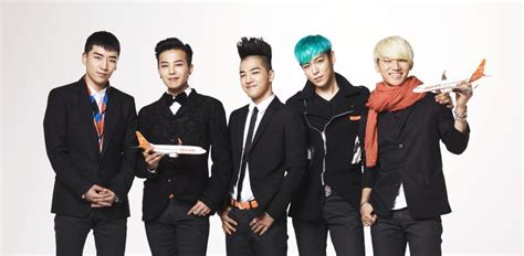 big bang kpop boy band k pop girl jeju airlines model contract with k pop star