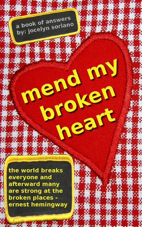 broken but mended books jocelyn soriano s mend my broken june 14