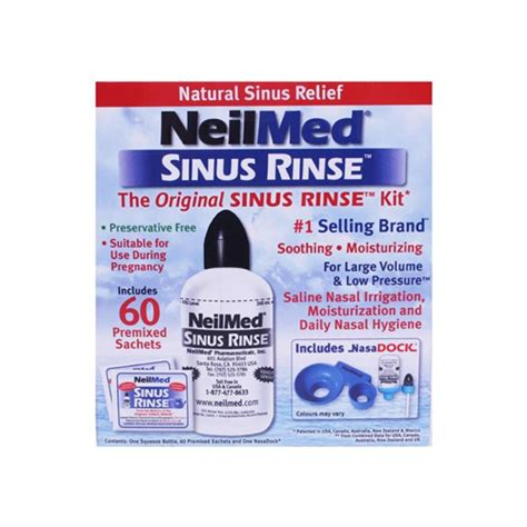 60 Day Sinus Detox by Nasocleanse Squeeze Sinus Rinse 30 Foley S Chemist