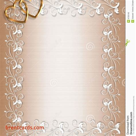 Wedding Invitation Design Border by Wedding Invitation Card Border Designs Free Card Design