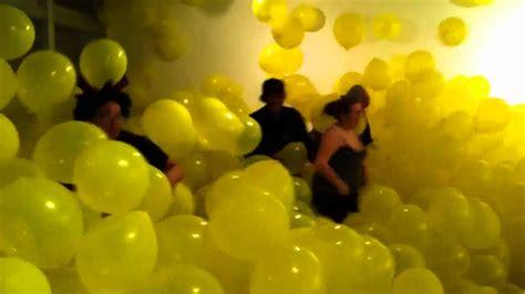yellow balloons popped youtube