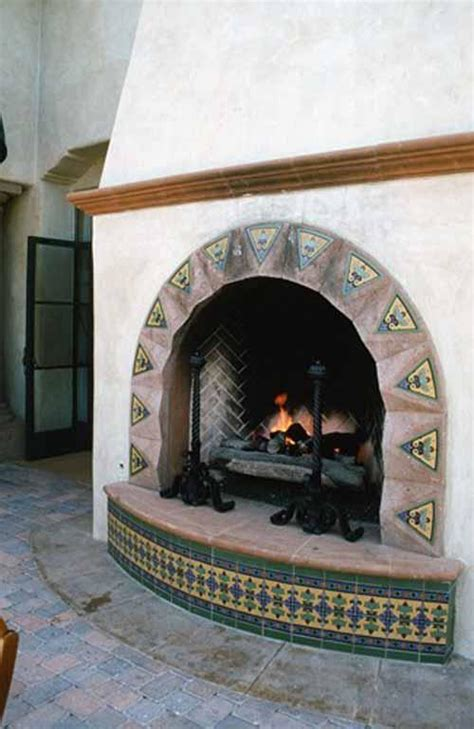 Mexican Fireplace Images Pictures And Ideas For Mexican Style Fireplaces
