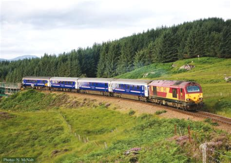 caledonian sleeper among world s best rail trips the