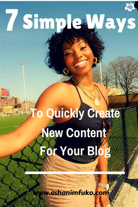7 Ways To Mak A City Your New Home by 7 Simple Ways To Quickly Create New Content For Your
