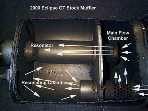 Knalpot Racng Muffler Esseinmann Bmw what does stock muffler internals look like vs magnaflow