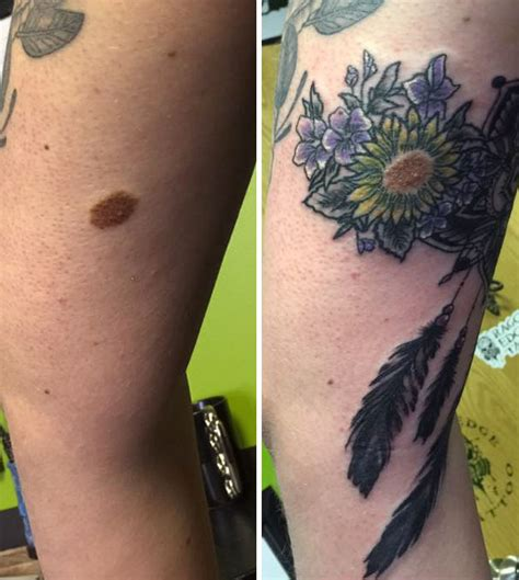 couple tattoo birthmark 10 genius birthmark cover up tattoos birthmark tattoo