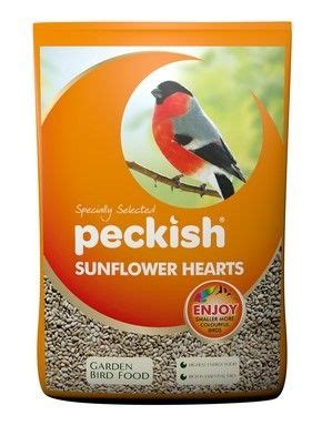 peckish sunflower hearts for wild birds 12 75kg 163 33 99