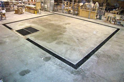 How To Install A Garage Floor Drain by Garage Floor Drain Grate The Better Garages Garage
