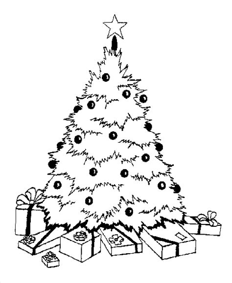 new christmas tree coloring pages outline of a christmas tree printable new calendar