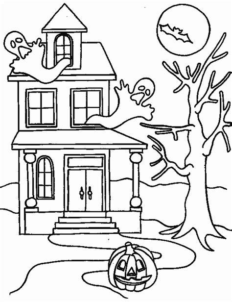 halloween coloring pages castle coloriage manoir sur jeudefille com