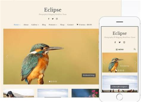 eclipse theme woocommerce eclipse review portfolio theme by wpzoom revealed