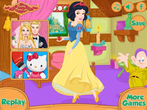 snow white games for girls girl games snow white house makeover girls games gamingcloud