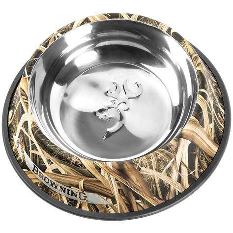 Pet Dish M browning stainless steel pet dish 666221 pet