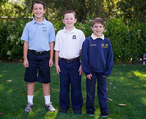 St Blue Boy school uniforms catholic school
