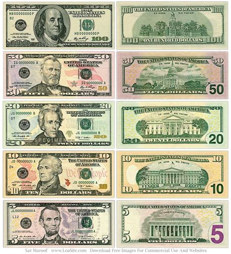 all about money big 0241206561 us bills google search es 409 efl resources