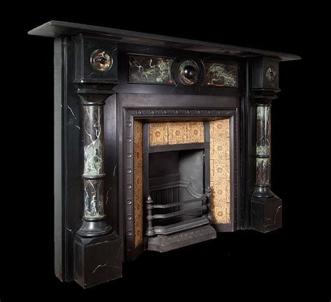 Edwardian Fireplace Surround by Edwardian Slate Surround Sl022 19th Century 20th