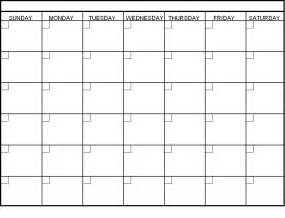 Calendar Template To Type In by Calendar Template