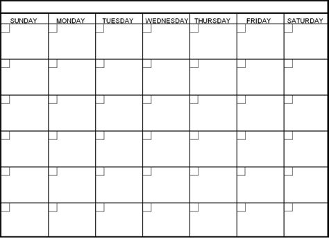 Calendar Layout Calendar Template