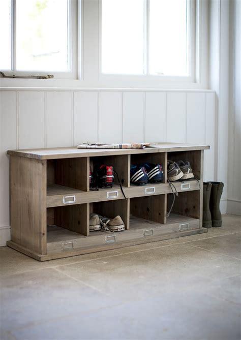 shoe tidy bench fir wood shoe storage bench