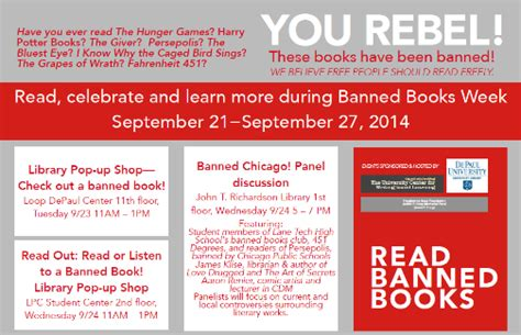 so you the chicago rebels series books don t ban yourself from banned books week scrawl s11 e01