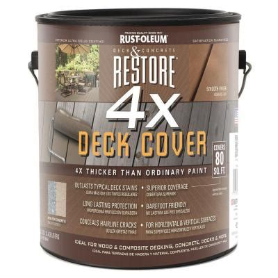 restore  gal  deck coat   home depot