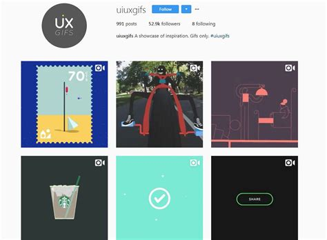 instagram ux design 12 instagram accounts for ui ux design inspiration