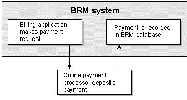 about brm initiated payment processing