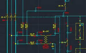 software de dise 241 o el 233 ctrico en cad para los diagramas de